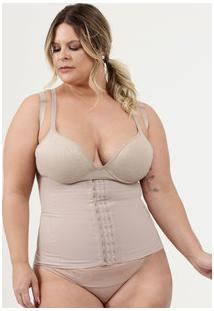 Cinta Feminina Modeladora Plus Size Control Plié