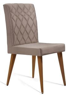 Cadeira De Jantar Edon Linho Bege