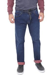 Calça Jeans Element Reta Ligth Azul