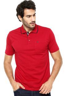 Camisa Polo Broken Rules Bolso Vermelha