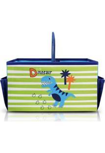Caixa Organizadora Infantil Com Alça Jacki Design Feminina - Feminino-Azul