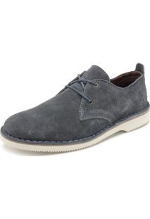 Sapato Kildare Liso Azul
