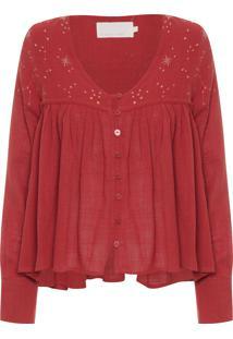 Blusa Feminina Atria - Vermelho
