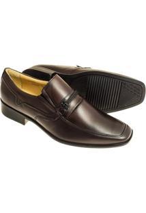 Sapato Social Sândalo Vermont Masculino - Masculino-Vinho