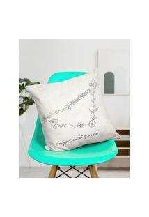 Amaro Feminino Design Up Living Capa De Almofada Signo 42X42, Capricórnio