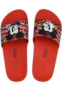 Sandalia Fem Inj Zaxy Pop Mickey Slide 65169047