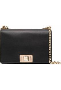 Furla Square-Shape Crossbody Bag - Preto
