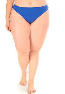 Calcinha Semi Fio Plus Size Acqua Rosa Azul