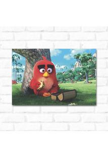 Placa Decorativa Angry Birds