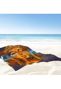 Toalha De Praia / Banho Buda Color