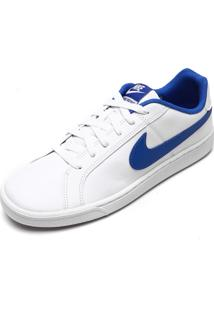 Tênis Nike Sportswear Court Royale Branco/Azul