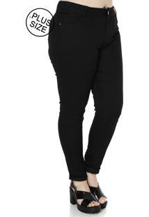 62d8b9ba55 ... Calça Sarja Skinny Plus Size Prs Jeans   Co Preto