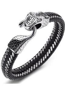 Pulseira Luxury Snake W.Buscatti Masculina - Masculino
