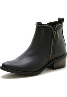 Bota Cano Curto Over Boots Urbana Preto