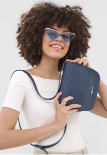 Bolsa Colcci Textura Azul-Marinho