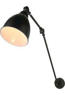 Arandela Premier Iluminação Aprilia, Metal Preto