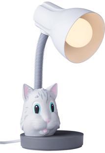 Luminária Infantil Gato - Startec - Cinza