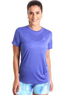 Camiseta Basic Em Energy - Azul Bic - Liquido