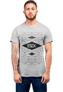 Camiseta Ezok Skate Lane Feminina - Feminino-Mescla