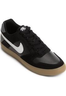 Tênis Nike Sb Delta Force Vulc Masculino - Masculino-Preto+Cinza