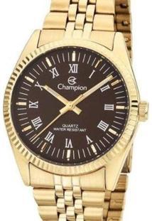 Relógio Champion Feminino - Feminino-Dourado