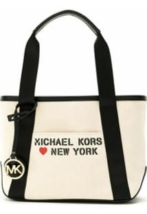 Michael Michael Kors Bolsa Tote The Michael Sm - Neutro