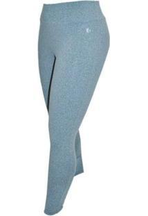 Calça Legging Plus Size Way Fit - Feminino-Cinza