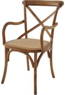 Cadeira Katrina Com Braco Cor Betula - 25888 - Sun House