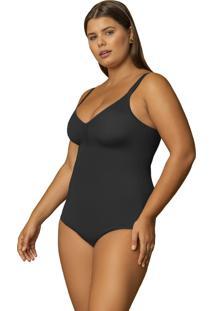 Body Modelador Sem Bojo Plus Size