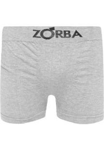 fe22c1ca0 ... Cueca Boxer Sem Costura Com Algodão Zorba - Masculino-Cinza