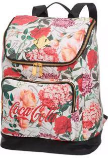 Bolsa Coca-Cola De Costas Mayflower Floral T Un