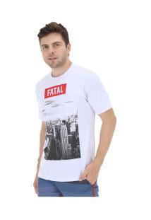 Camiseta Fatal Estampada 20317 - Masculina - Branco