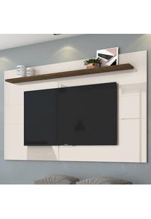 Painel Para Tv Lorenzo 180 Cm 458122 Off White/Savana - Madetec