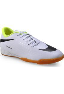 Tenis Masc Nike 633419-107 Hypervenom Phade Ic Branco/Preto/Limao