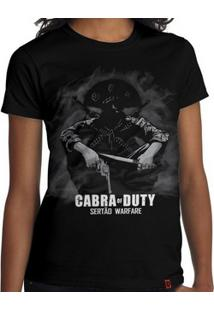 Camiseta Cabra Of Duty