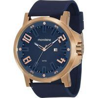 6e5620e12ed Relógio Masculino Mondaine 99233Gpmvri5 Silicone - Masculino-Azul Escuro