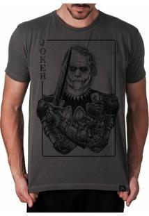 Camiseta Coringa Joker Clássico Masculina - Masculino