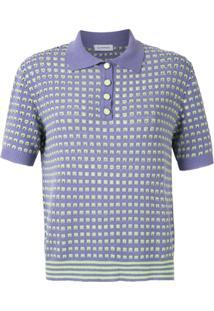 Olympiah Camisa Polo 'Nika' De Tricô - Roxo