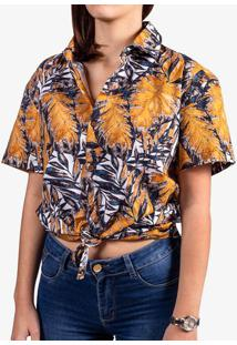 Camisa Yellow Leafs 800069