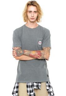 Camiseta Dc Shoes Pocket Juncti Cinza