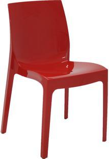 Cadeira Alice Vermelha Em Polipropileno 92037040 Tramontina