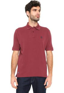 Camisa Polo Mr. Kitsch Basic Vinho