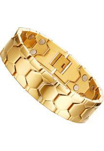 Pulseira Divanet Magnéticos Dourada