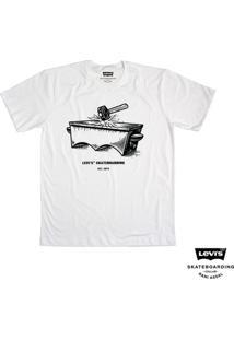 Camiseta Levis Man Skateboarding Estampa Collab - Masculino