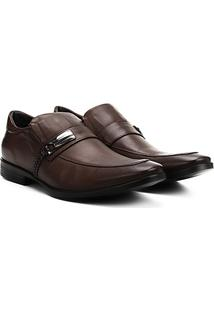 Sapato Social Couro Ferracini Dimitri - Masculino-Marrom