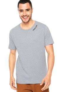 Camiseta Forum Lisa Cinza