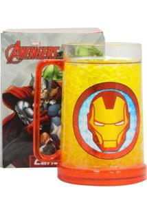 Caneca Gelo Homem De Ferro Geek10 - Multicolorido