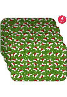 Jogo Americano Love Decor Wevans Multi Tocas Natal Kit Com 4 Pã§S - Multicolorido - Dafiti