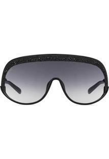 4057f3e45 Jimmy Choo Eyewear Óculos De Sol Máscara De Ski - Preto