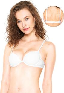 Sutiã Lupo Push Up Perfect Branco